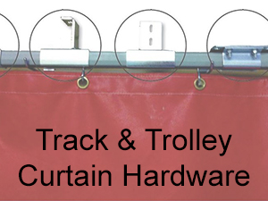 Track and Trolley Curtain Hardware